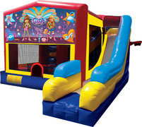 Girl Thing Bounce House Combo 7n1