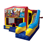 Pirate Bounce House Combo 7n1
