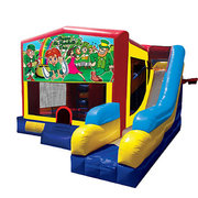 St. Patrick Bounce House Combo 7n1