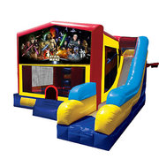 Star Wars Bounce House Combo 7n1