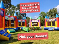 Bounce Houses or Moonwalks