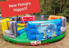 Hungry Hippo Inflatable Game for four kids!!!