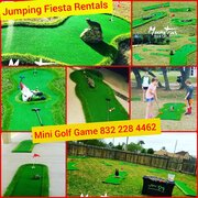 Mini Golf Game up to Nine Holes