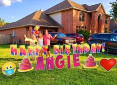 Yard Signs & Balloons for Birthday, Graduation or any Celebration!