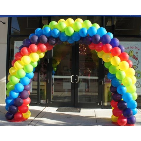 Balloon Arch with 250 Balloons