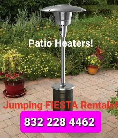 PATIO HEATERS with Tank of Gas