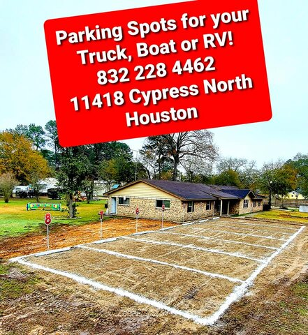 Parking Spots for Cars, Trucks, Food Trucks, Boats & RV's