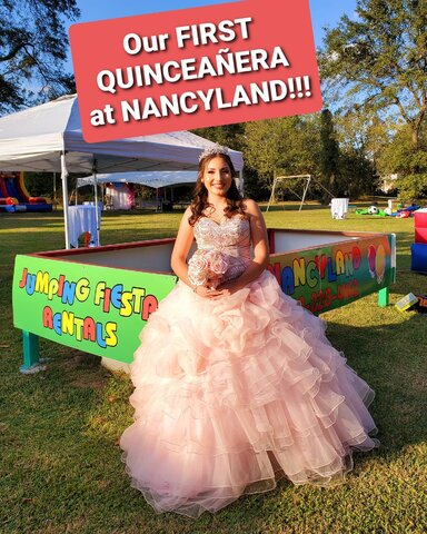 QUINCEANERA event!!! Tent, tables, chairs!
