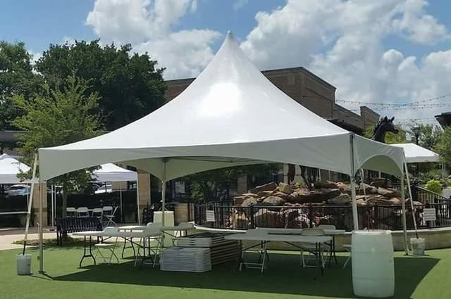 001 Tent 20'x 20'  High Peak Frame set up in grass or concrete