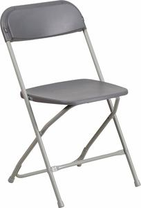 003 New Charcoal Black Folding Chairs