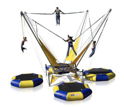 NEW BUNGEE TRAMPOLINE 2017!!!