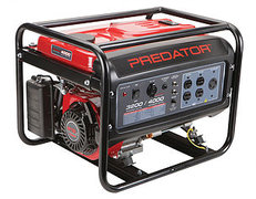 Generator with gas