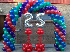 Balloon Arch with your Birthday number!