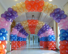 Balloon Arches (pick your amount and colors of Balloons)
