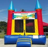 001 Bounce House with two Tables & 20 Chairs