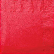 "Paper Lunch napkins 13"" packages of 20 (assorted colors)"