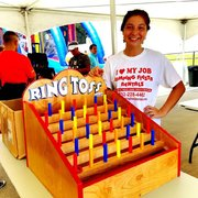 002 Ring Toss Carnival Game