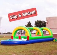Slip & Slide with pool
