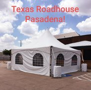 Tent 20 x 20, 60 chairs, three walls, two spot lights, 3 tables 6 foot, 3 tables 8 foot (TRH Pasadena)