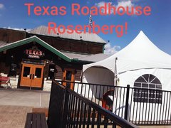 Tent 20 x 20, 20 chairs, three walls, two spot lights, one Fan, 4 tables 6 foot(TRH ROSENBERG)