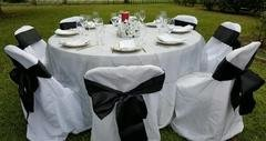 Black Silk Sashes