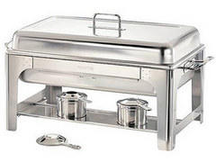 Chafing Dish Square with two chafing fuel