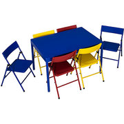 Kids table with 6 chairs