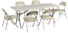 Tables and Chairs Packages