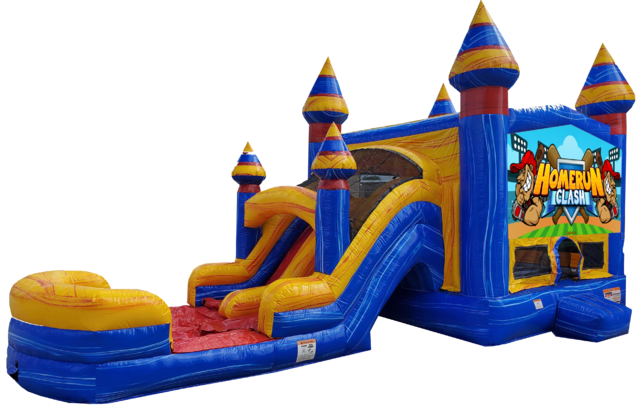 Baseball water slide rentals in Nashville | Jumping Hearts Party Rentals