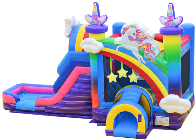 Unicorn Bounce House Rentals Nashville | Jumping Hearts Party Rentals