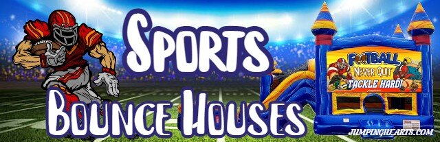 Sports Bounce House rentals Nashville | Jumping Hearts Party Rentals