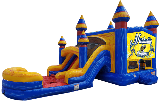 Hockey bounce house rentals Nashville | Jumping Hearts Party Rentals