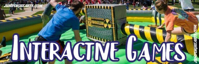 Interactive inflatable game rentals Nashville | Jumping Hearts Party Rentals
