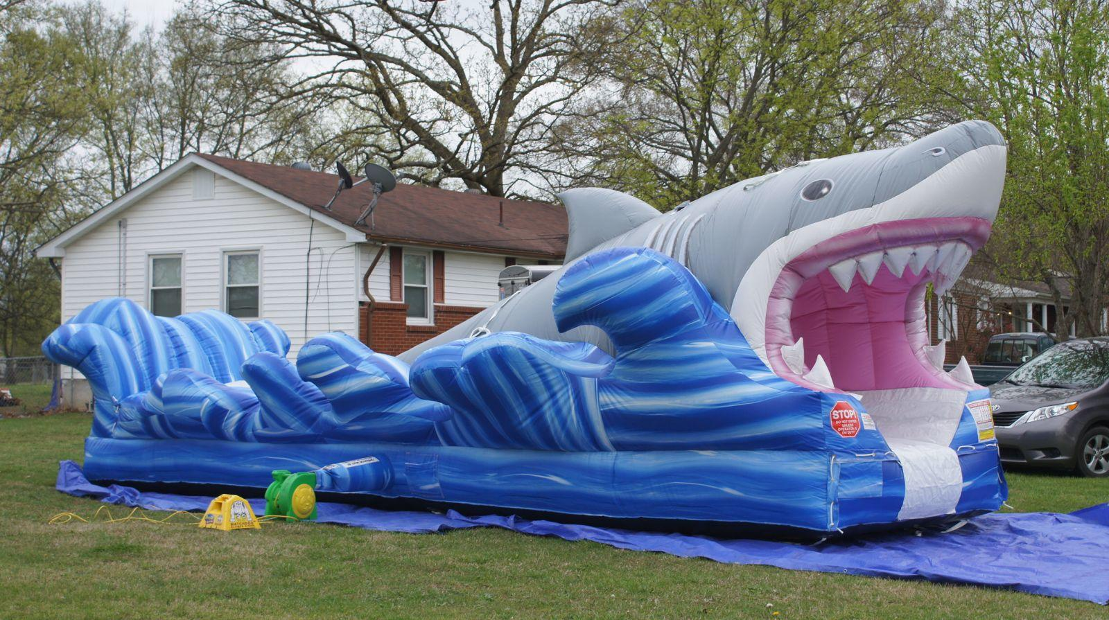shark slip and slide rentals Nashville TN