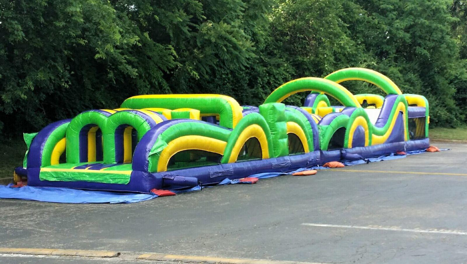 obstacle course rentals Nashville Tn