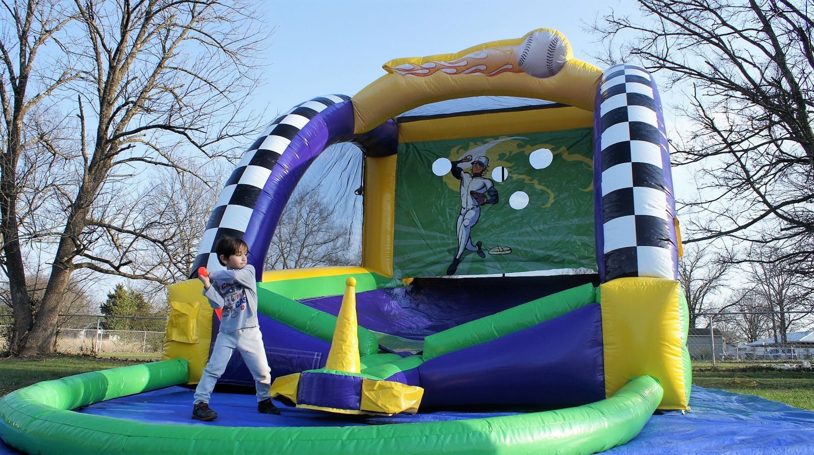 T ball baseball game rentals Nashville TN Jumping Hearts Party Rentals