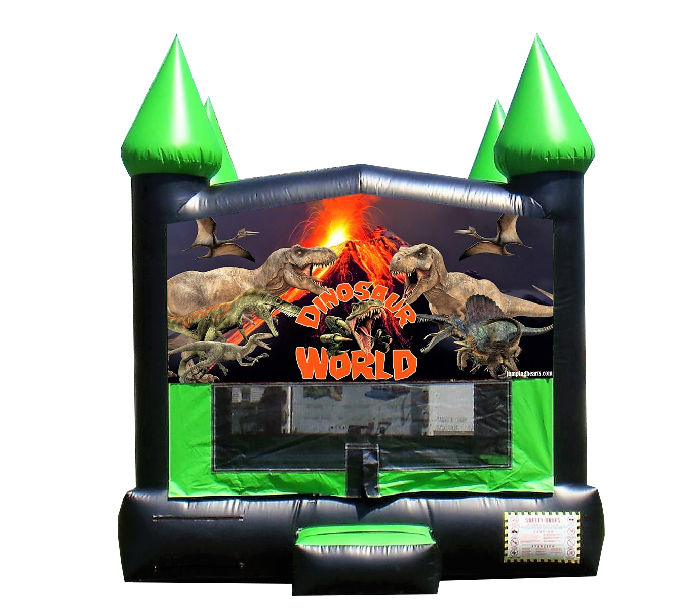 Dinosaur bounce house for rent Nashville Tn Jumping hearts Party rentals