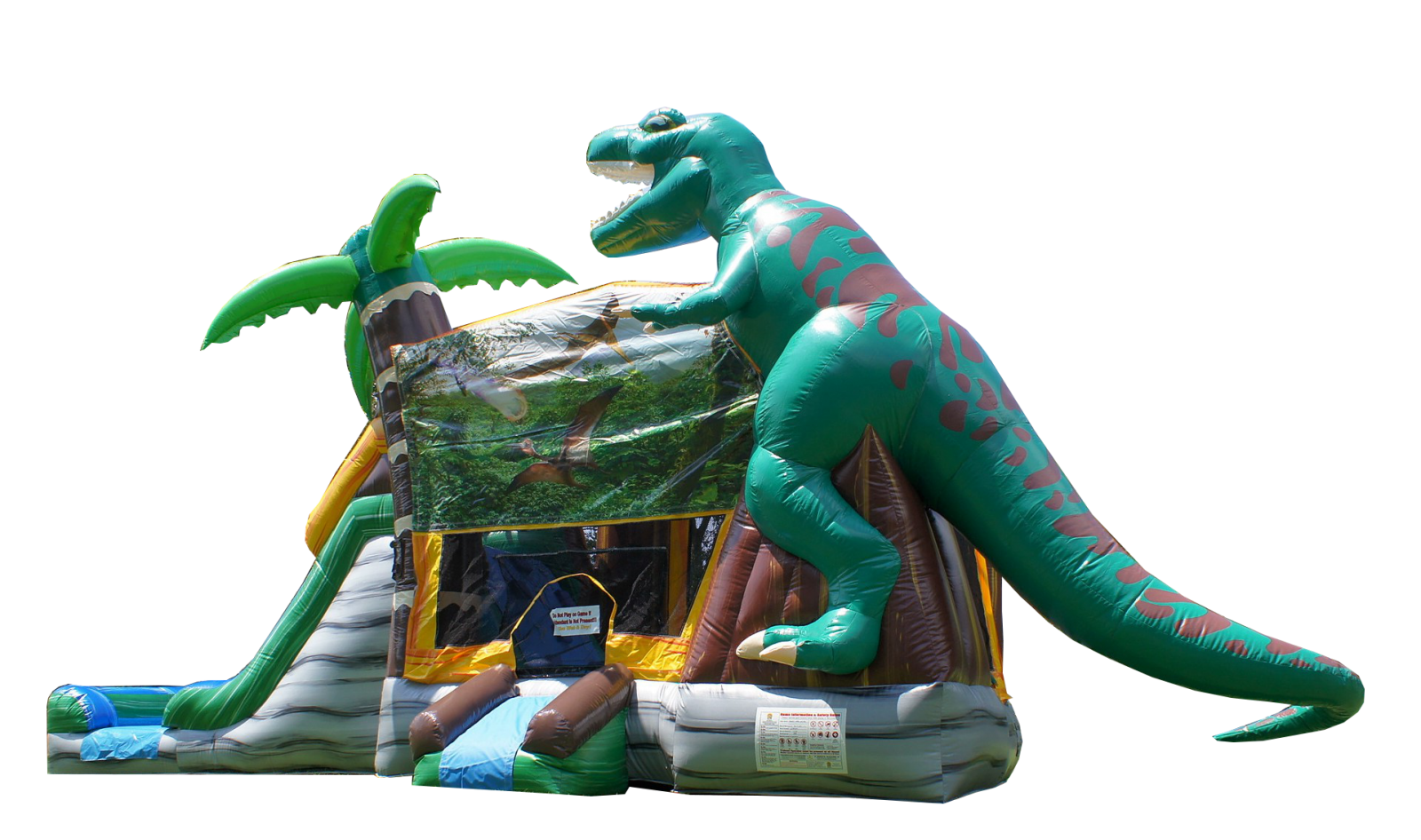 Jurassic dinosaur bounce house Nashville TN Jumping Hearts Party Rentals