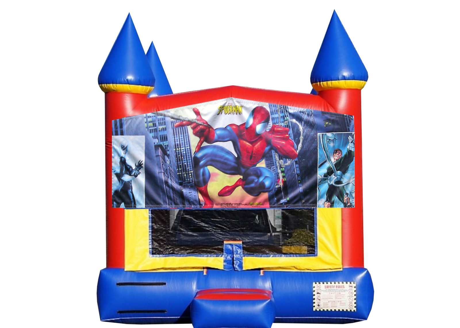 Spiderman Bounce House rental Nashville TN Jumping Hearts Party Rentals