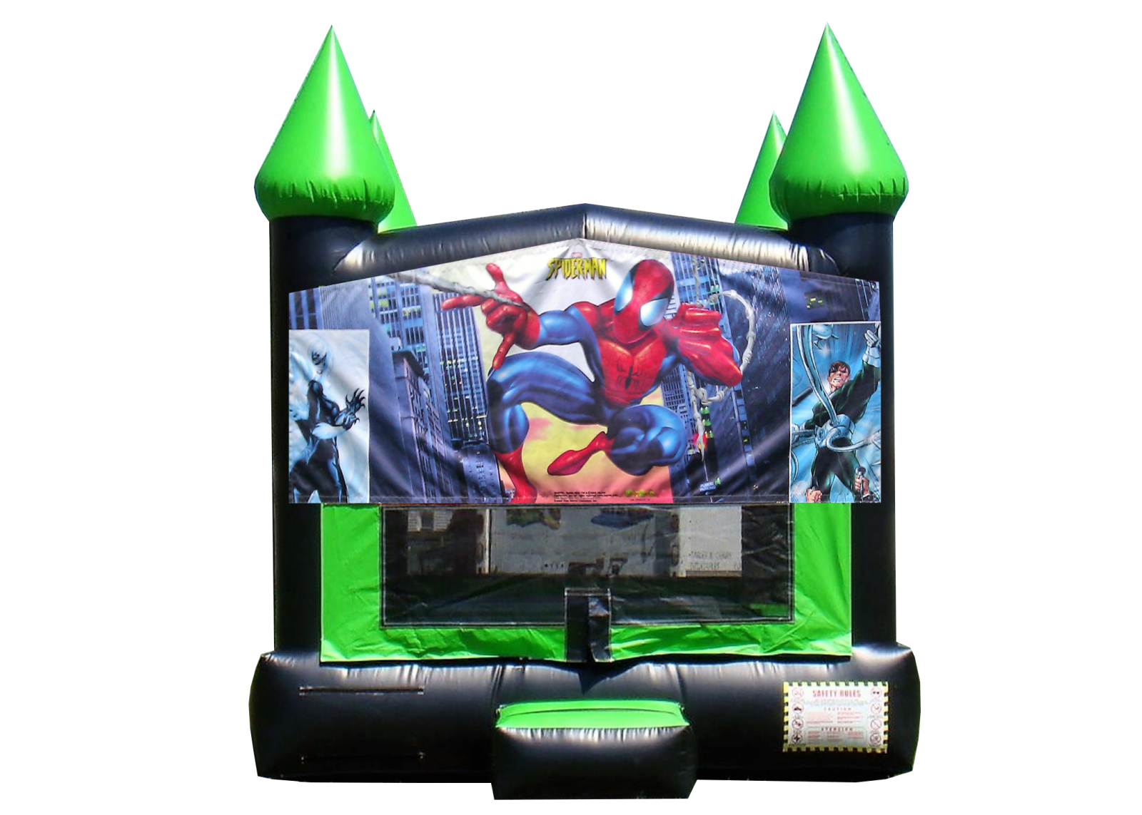 Spiderman Bouncy House for rent Nashville TN Jumping Hearts Party Rentals