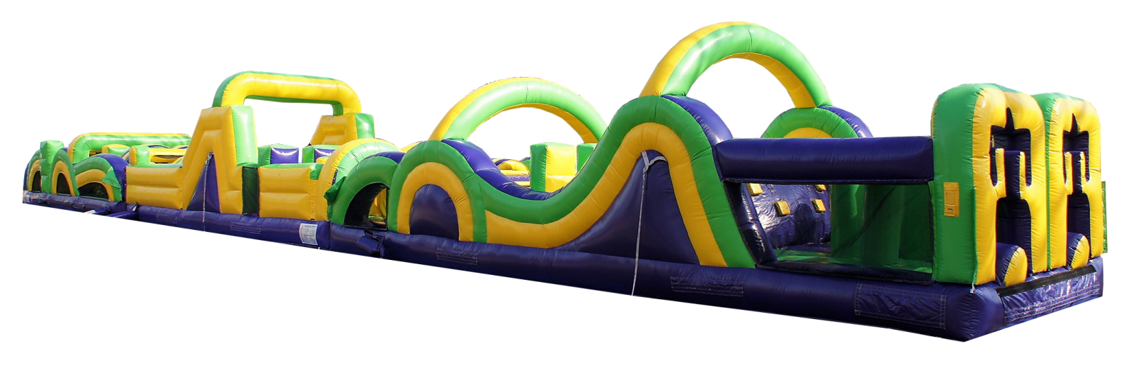 big obstacle course rental Nashville Tn jumping hearts party rentals