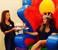 inflatable Throne rentals Nashville TN