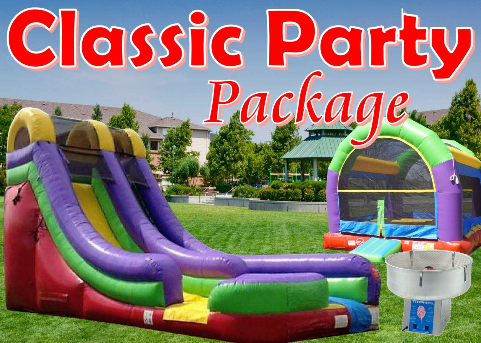 Inflatable party package Nashville Tn