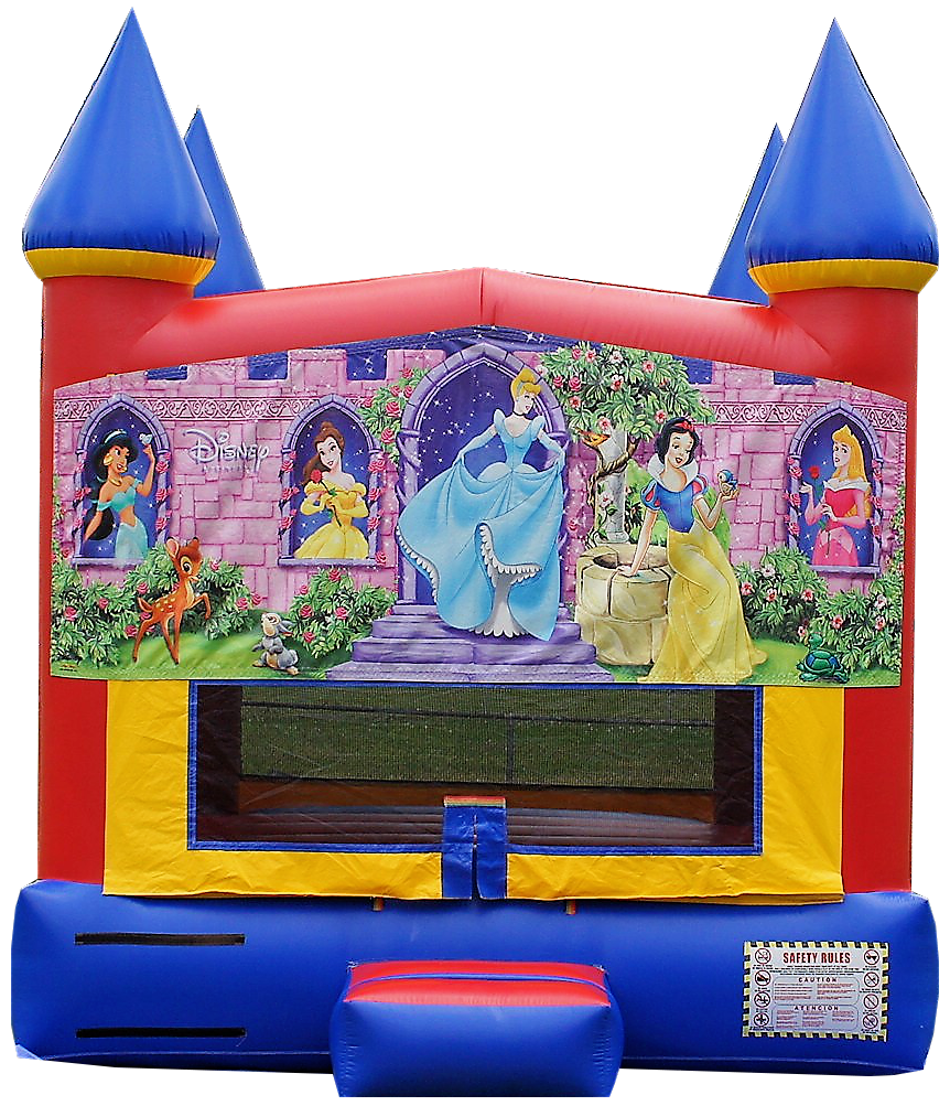 Disney Princess Bouncy House rental Nashville TN Jumping Hearts Party Rentals