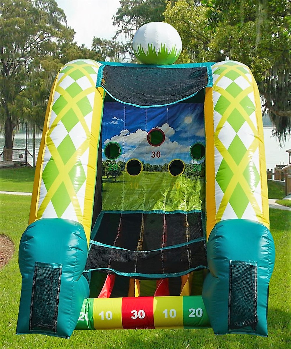 Golf game rentals Nashville TN jumping hearts party rentals
