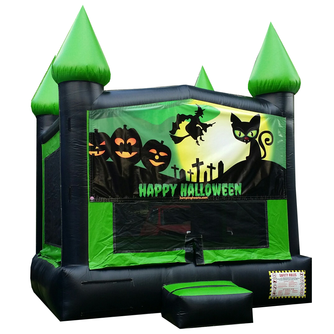 Halloween Bounce House for rent Nashville Tn Jumping Hearts Party rentals