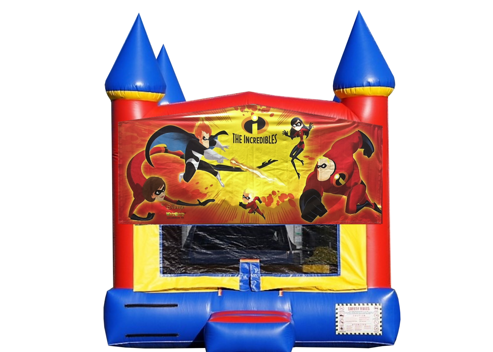 The Incredibles Bounce House rental Nashville TN Jumping Hearts Party Rental