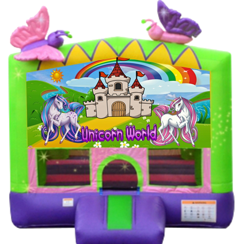 Unicorn Bounce House Rental Nashville Tn jumping hearts party rentals