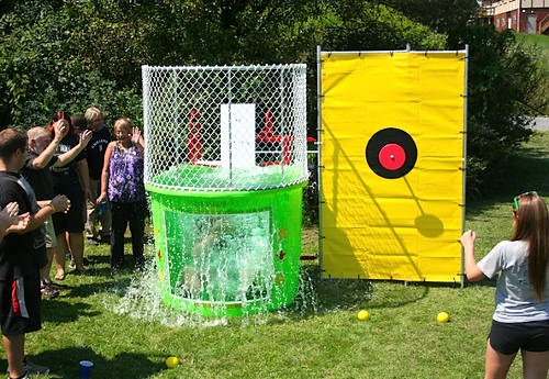 Nashville dunk tank rentals jumping hearts party rentals Nashville