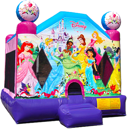Disney Princess Bounce House Nashville